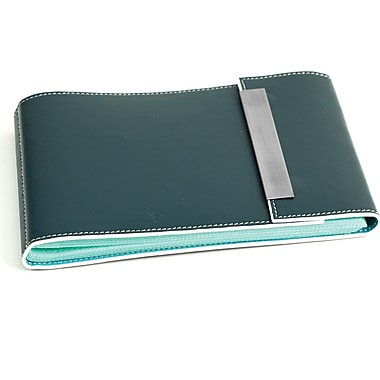 Bey-Berk Leather Photo  Album, 36 Pictures 4in. x 6in., Blue