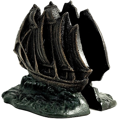 Bey-Berk Sailboat Bookends,  Brass, Bronzed