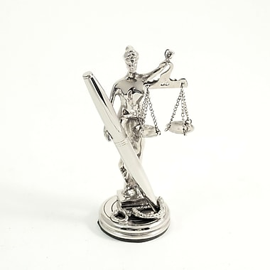 Bey-Berk Lady Justice  Pen Holder