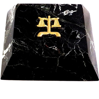 Bey-Berk Marble Paperweight,  Legal