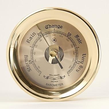 Bey-Berk Brass Barometer