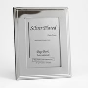 Bey-Berk SF107-11 Silver Plated Picture Frame, 5 x 7