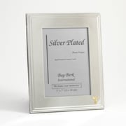 "Bey-Berk Silver Plated  Picture Frame, 5"" x 7"", Chiropractor"