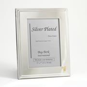 "Bey-Berk Silver Plated  Picture Frame, 5"" x 7"", Medical"
