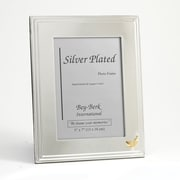 "Bey-Berk Silver Plated  Picture Frame, 5"" x 7"", Pharmacy"