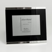 """Bey-Berk SF187-09 Silver Plated Picture Frame, 4"""" x 6"""""""