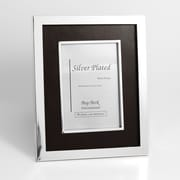 Bey-Berk SF188-11 Silver Plated Picture Frame, 5 x 7