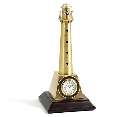 Bey-Berk Brass Lighthouse  Clock