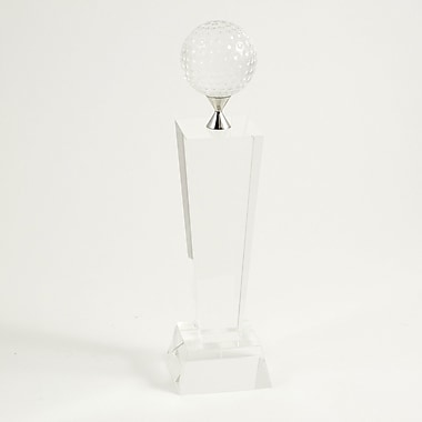 Bey-Berk Fairway Crystal  Award, 11 1/2in.