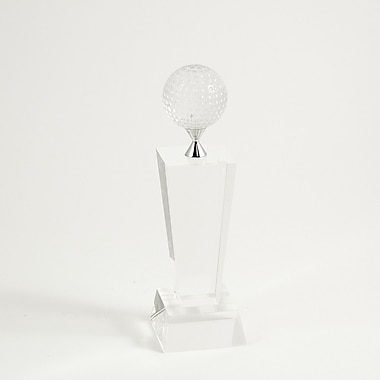 Bey-Berk Fairway Crystal  Award, 10in.