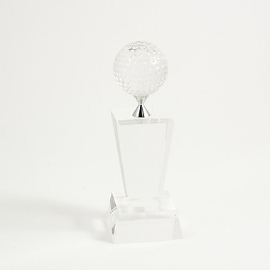 Bey-Berk Fairway Crystal  Award, 81/2in.