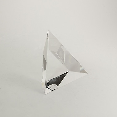 Bey-Berk Crystal Triangle  Trophy, 5 3/4in.