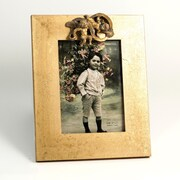 Bey-Berk Angel Gold  Leaf Frame, 5 x 7