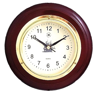 Bey-Berk Walnut Clock
