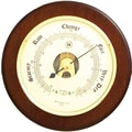 Bey-Berk Brass and  Cherry Wood Barometer