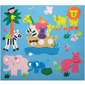 Amanda Blu Embroidered Fabric Album 12in. x 12in.-Noah's Ark
