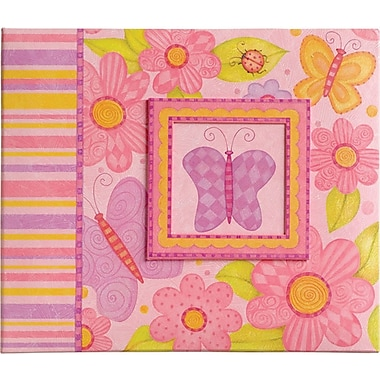 K&Company Young Girl Postbound Scrapbook 12in. x 12in.
