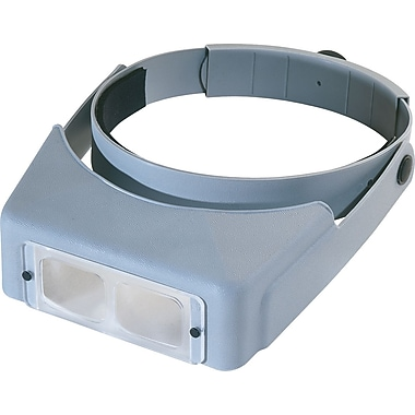 Donegan Optical OptiVISOR LX Binocular Magnifier-Lensplate #7 Magnifies 2.75X At 6