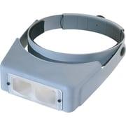 "Donegan Optical OptiVISOR LX Binocular Magnifier-Lensplate #7 Magnifies 2.75X At 6"""