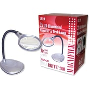 Carson Optical DeskBrite 200 Lighted Magnifier