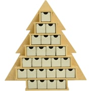Kaisercraft Beyond The Page Mdf Small Tree With Drawers Advent Calendar
