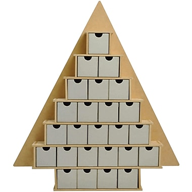 Kaisercraft Beyond The Page MDF Large Tree With Drawers Advent Calendar