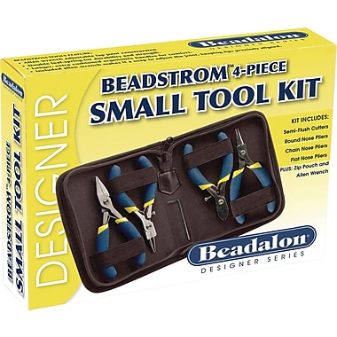 Beadalon Beadstrom Small Tool Kit-4 Pieces