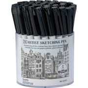 Zig Artist Sketching Pen Display-Black