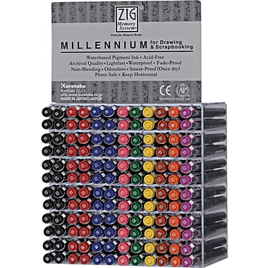 Zig Memory System Millennium Marker 144pc Display