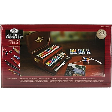 Royal Brush Premier All Media Painting Chest Set, 80 Piece