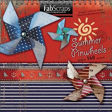 Fabscraps Summer Die-Cut Book