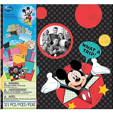 Jolees Disney Vacation Scrapbook Kit 12