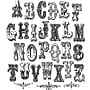 Stampers Anonymous Tim Holtz Mini Cling Rubber Stamp