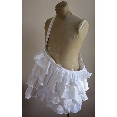 Melissa Frances Fabric Tote Bag, White