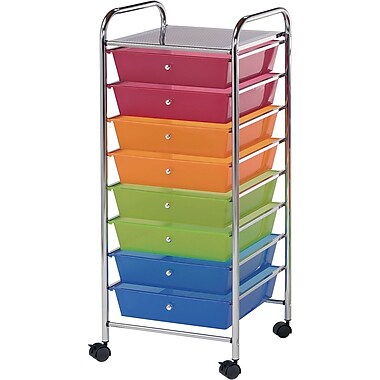 Blue Hills Studio Storage Cart U8 Drawers 16.5