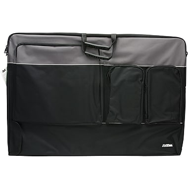ArtBin Tote Folio XL-35.25in. x 1.625in. x 24.125in. Black/Charcoal