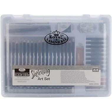 Royal Brush Clearview Medium Sketching Art Set