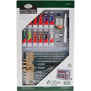 Royal Brush Clearview Large Oil Painting Art Set