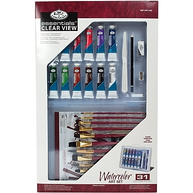 Royal Brush Clearview Large Watercolor Painting Set