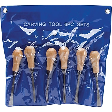 Excel Palm Style Deluxe Woodcarving Set