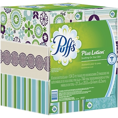 Puffs® Plus Lotion