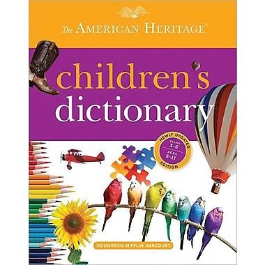 Houghton Mifflin Harcourt American Heritage® Children's Dictionary 2013, Hardcover