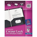 Avery® 47759 Corner Lock™ Two-Pocket Folder, Blue
