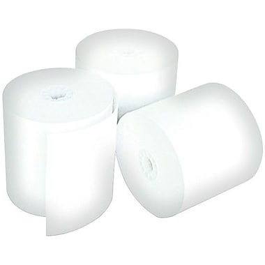 Control Papers 52136-48 1-Ply Bond POS Roll, White, 3-1/4
