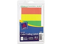 Avery® 13963/5481 Assorted Color Coding Label, Assorted, 200/Pack