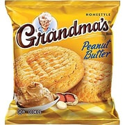 Grandma's® Homestyle Peanut Butter Cookies, 2.5 oz. Bags, 60 Bags/Box