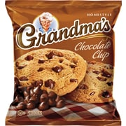 Grandma's® Homestyle Chocolate Chip Cookies, 2.5 oz. Bags, 60 Bags/Box