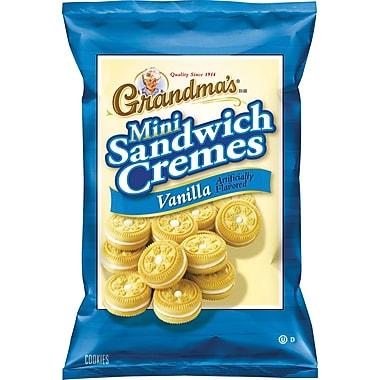 Grandma's® Mini Vanilla Creme Cookies, 24 Bags/Box
