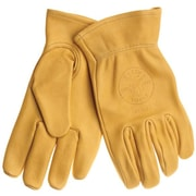 Klein Tools® 40021 Work Gloves, Natural Light-Tan, Medium