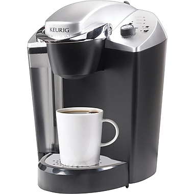 Keurig OfficePRO Single-Cup Commercial Coffee Brewer, Black/Silver